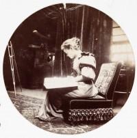 Woman reading c.1890