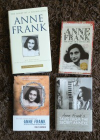 Anne Frank books