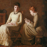 Two Friends by Oliver Ingraham Lay (1877)