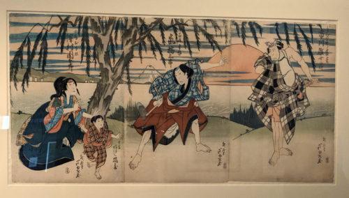 ukiyo-e by Gigado Ashiyuki