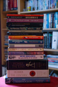 pile of books photo