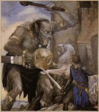 The Mabinogion illustration by Alan Lee