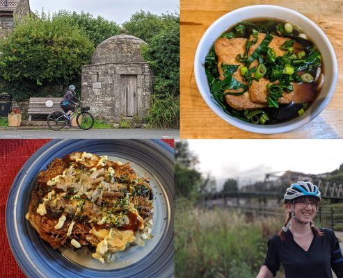 July activities: cycling and cooking